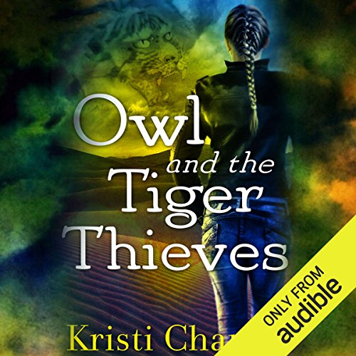 Owl and the Tiger Thieves audiobook cover art
