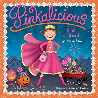 Pink or Treat! audiobook cover art