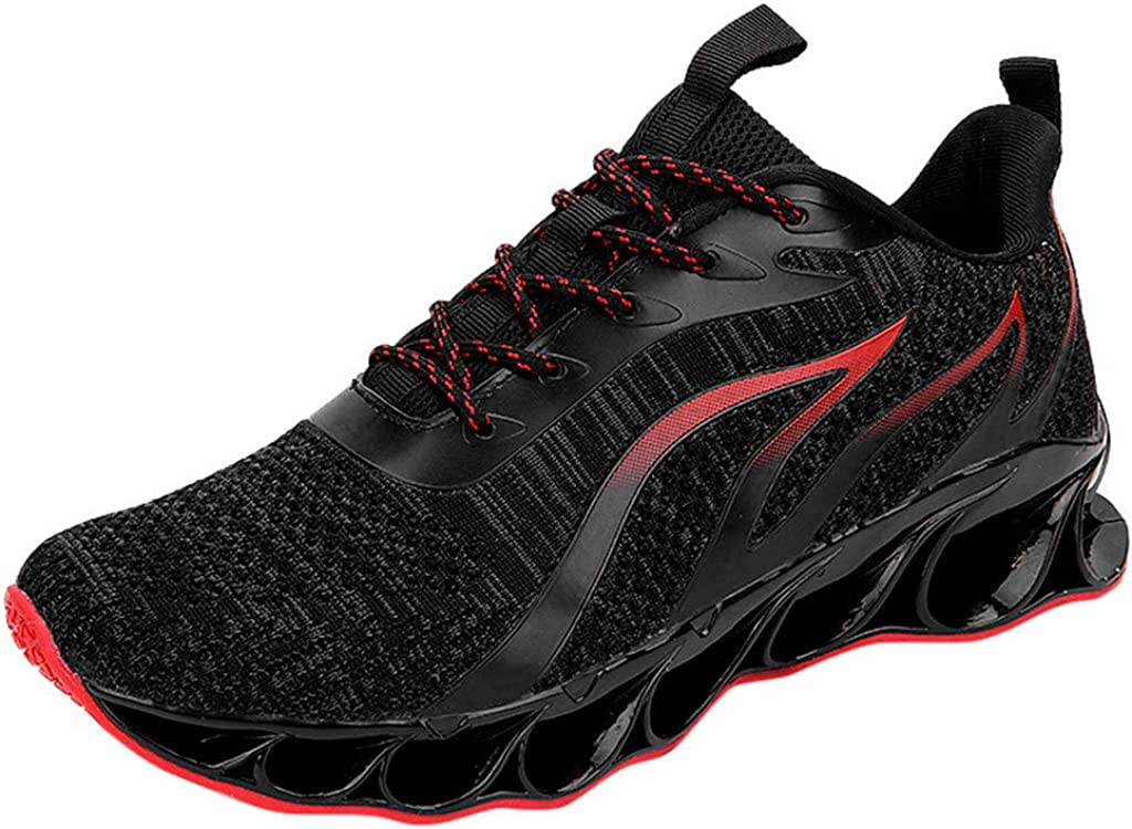 Huazi2 Mens Casual Mesh Sport Running Shoes Breathable Sneakers Climbing Shoes