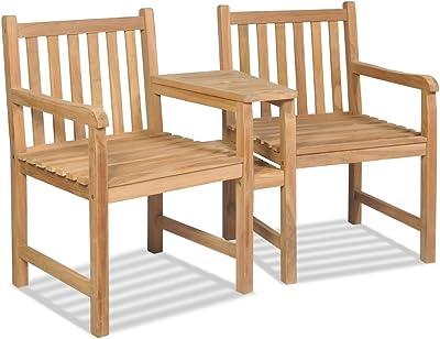 Keter Tarifa - Conjunto de sillones de jardín exterior con ...