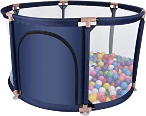 WJSW Kids Activity Centre Playpens Baby  Toddler 65cm Safety Playard  Kids Activity Centre Fence with Breathable Mesh  Indoor and Outdoor Play Safety