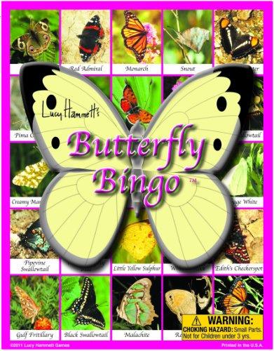 Lucy Hammett Games Butterfly Bingo Board Game