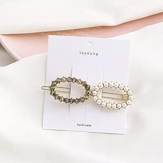 Crystal Strass Oval Bowknot Haarspangen Haarspange Clamp Haarnadel Headwear