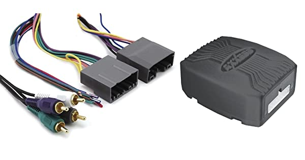 Discontinued by Manufacturer Axxess CHTO-013 Amplifier Interface Harness for Select 2004-2008 Chrysler//Dodge//Jeep//Mitsubishi Vehicles