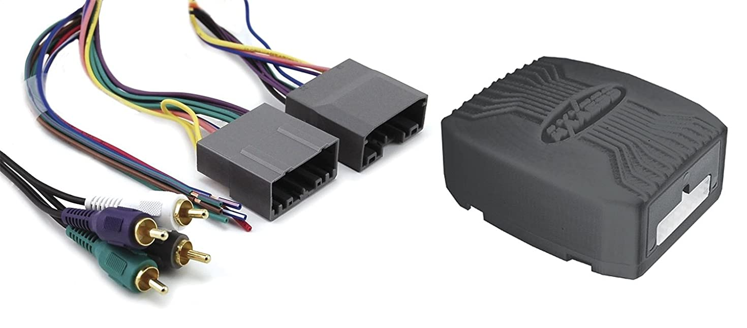 Axxess CHTO-013 Amplifier Interface Harness for Select 2004-2008 Chrysler/Dodge/Jeep/Mitsubishi Vehicles (Discontinued by Manufacturer)