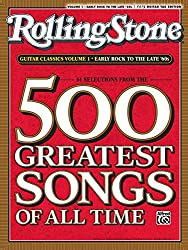 Rolling Stone Guitar Classics: Early Rock to the Late \'60s: Easy Guitar Tab Ediiton: 61 Selections From The 500 Greatest Songs of All Time