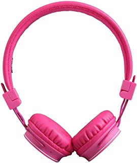 Bluetooth Volume Limiting Kids Headphones,Sodee Wireless/Wired Stereo Over-ear HD Headset with Share port SD Card FM Radio...
