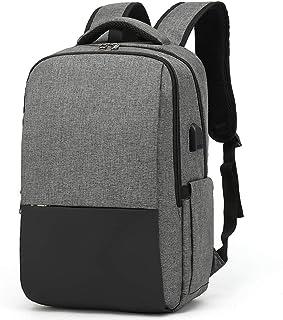 Zaino per computer portatile, borsa portatile con porta di ricarica USB, zaino aziendale, zaino scolastico regalo per uomi...