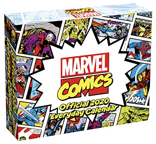 Marvel Comics 2020 Desk Block Calendar - Official Desk Block Format Calendar