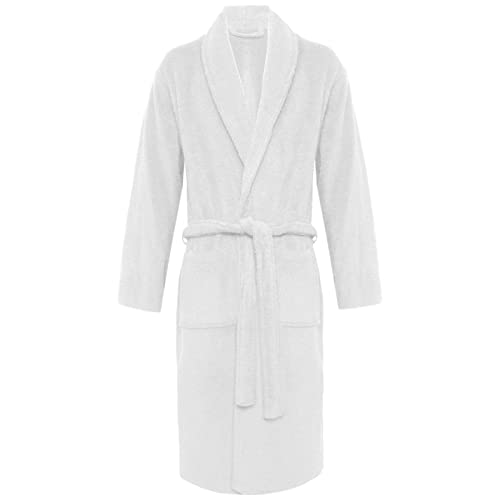 b61331eaab MyShoeStore Womens Mens 100% Luxury Egyptian Cotton Super Soft Terry  Towelling Bath Robe Unisex Ladies