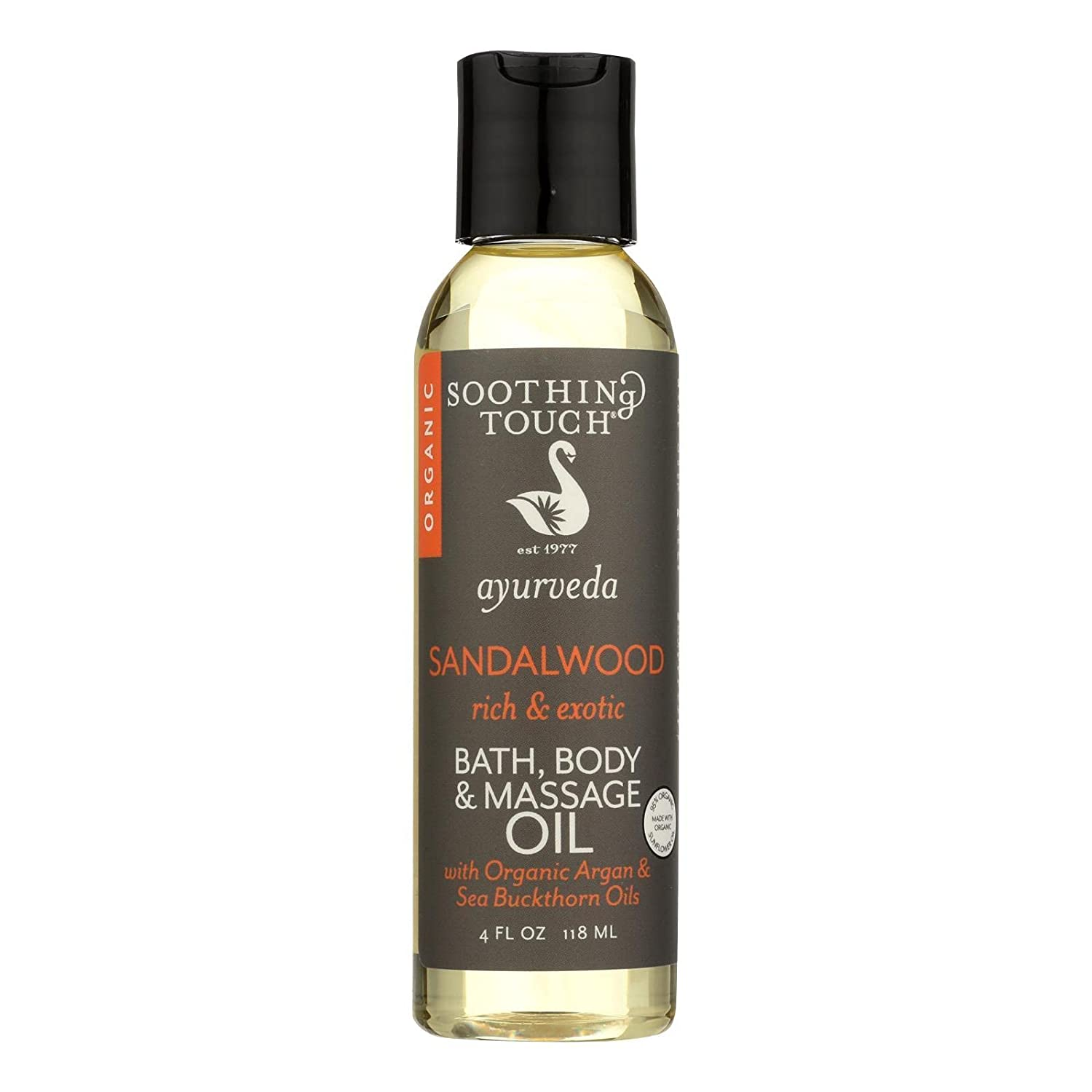 Organic Bath Body excellence SEAL limited product Oil; Sandalwood