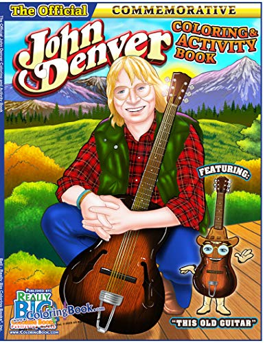 John Denver The Official Legacy Coloring and Activity Book (8.5 x 11)