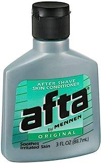 Afta After Shave Skin Conditioner Original 3 oz ( Pack of 4)