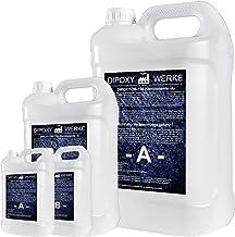 3,0kg DIPOXY-2K-700 epoxyhars, 2K hars met verharder, EP lamineerhars in professionele kwaliteit, glashelder en geurarm, g...