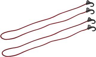 キャプテンスタッグ(CAPTAIN STAG) キャリー用フック付コード 150cm 2個セット 【Amazon.co.jp限定】 U レッド UZ-13030