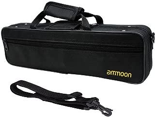 Andoer 600D Water-resistant Flute Gig Bag Box with Adjustable Single Shoulder Strap Pocket, Case for concert flute