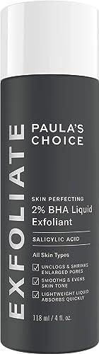 Paulas Choice--SKIN PERFECTING 2% BHA Liquid Salicylic Acid Exfoliant--Facial Exfoliant for Blackheads, Enlarged Pore...