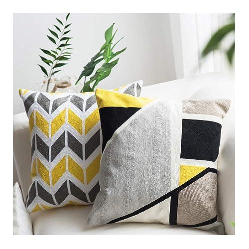 Grey Yellow Bedroom Decor Amazoncom