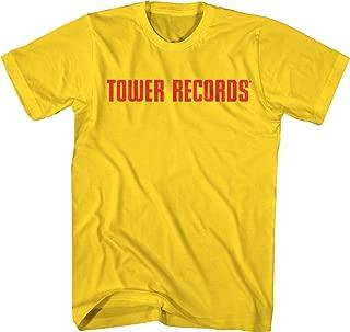 Tower Records Horizontal Logo - Adult T-Shirt