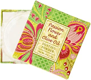 Greenwich Bay Trading Co. Dusting Powder, 4 Ounce, Passion Flower and Olive Oil