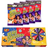 Jelly Belly Bean Boozled Set Glücksrad + vier 54g...