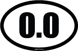 Motvia 0.0 Oval Car Magnet