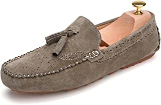 Termee Men Loafers Moccasins Slip On Shoes Male Flats Moccasin Driving Shoes