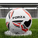 FORZA Pro Match Fusion Soccer Ball [2018] Make Each Match Feel Like A Pro Soccer Clash with This Premium Matchday Soccer Ball [Net World Sports]