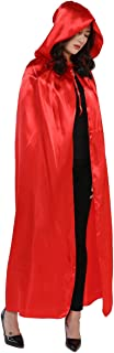 Cloak with Hood Costume Hooded Cape (23-66 inches)