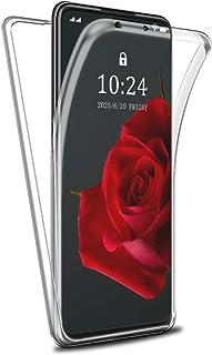Reshias Funda para Huawei P Smart 2021, 360°Full Body Protección Suave TPU Silicona Delantero PC Dura Atrás Transparente F...