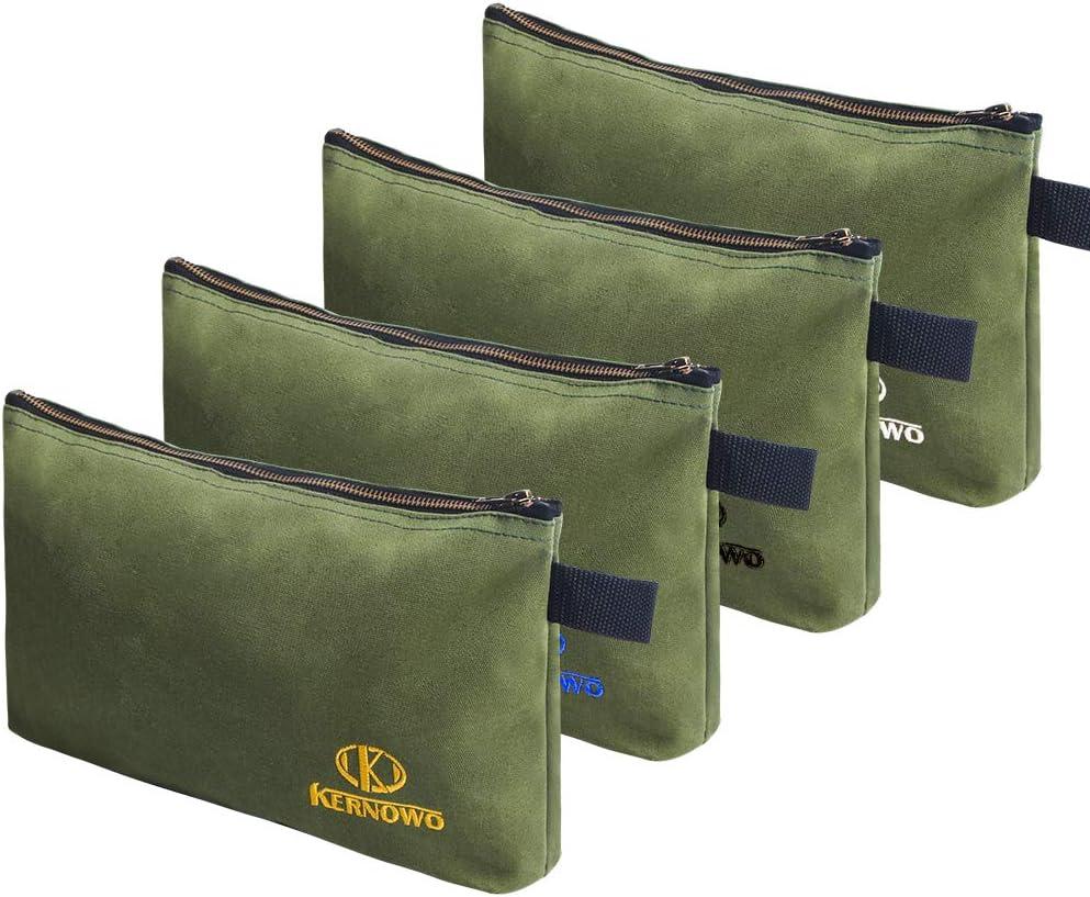 4 Japan Latest item Maker New Pack Upgrade Zipper Canvas Tool Pouch B Duty Heavy oz 20