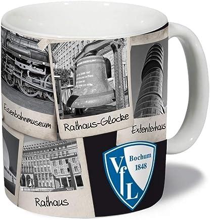 VfL Bochum 1848 Multifunktionsrucksack Logo und Schriftzug DU UND Dein VFL Fan-Artikel Sport Freizeit Fu/ßball Stadion