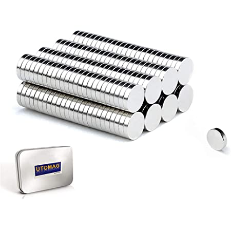 Aimants Néodyme Puissants, 5mm x 1mm Disc Terres Rares Petits Ronds Magnet pour Réfrigérateur, Frigo Surfaces Magnétiques, Tableau Blanc Interactif, Images, Bricolage, Porte, Carte (200 Pièces)