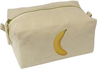 'Banana' Canvas Wash Bag / Makeup Case (CS00019633)