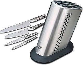 Global - Juego de 7 cuchillos con 6 cuchillos globales y bloque global