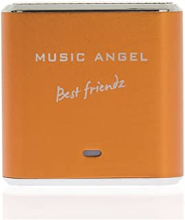 Music Angel Mini Best Friendz Speaker for iPhone/iPad/iPod/MP3 Players/PC/MAC - Orange