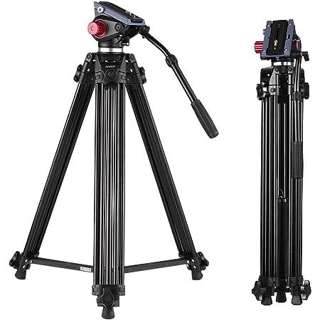 Manfrotto Mvk504twingc 504hd Professioneller Fluid Kamera