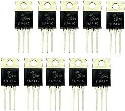 Sharplace 100pcs BC547 TO-92 NPN Transistores de Silicio Planar Epitaxial Mult/ímetros