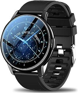 スマートウォッチ 2021最新版 スマートウォッチ IP68/5ATM防水 スマートウォッチ メンズ 1.3インチ 高解像度 フルタッチスクリーン smart watch Buetooth5.0 スマートブレスレット 歩数計 GPS運動記録 L...