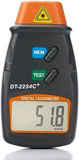 HDE Professional Digital Infrared Photo Tachometer RPM Motor Speed Gauge Tach