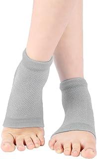 Purastep Silicone Gel Heel Socks For Dry Hard Cracked Heels Repair, Foot Care Support Cushion With Spa Botanical Gel Pad -...