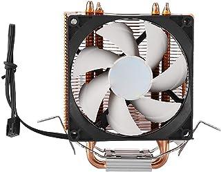 Silencioso para Intel y AMD Azul upHere 4pin PWM LED Ventilador de CPU Disipador de Calor ACC92BE