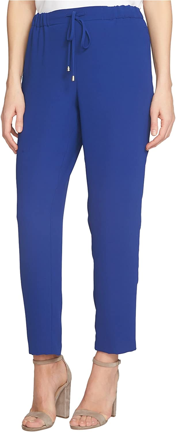 Cece Womens Crepe Casual Trousers