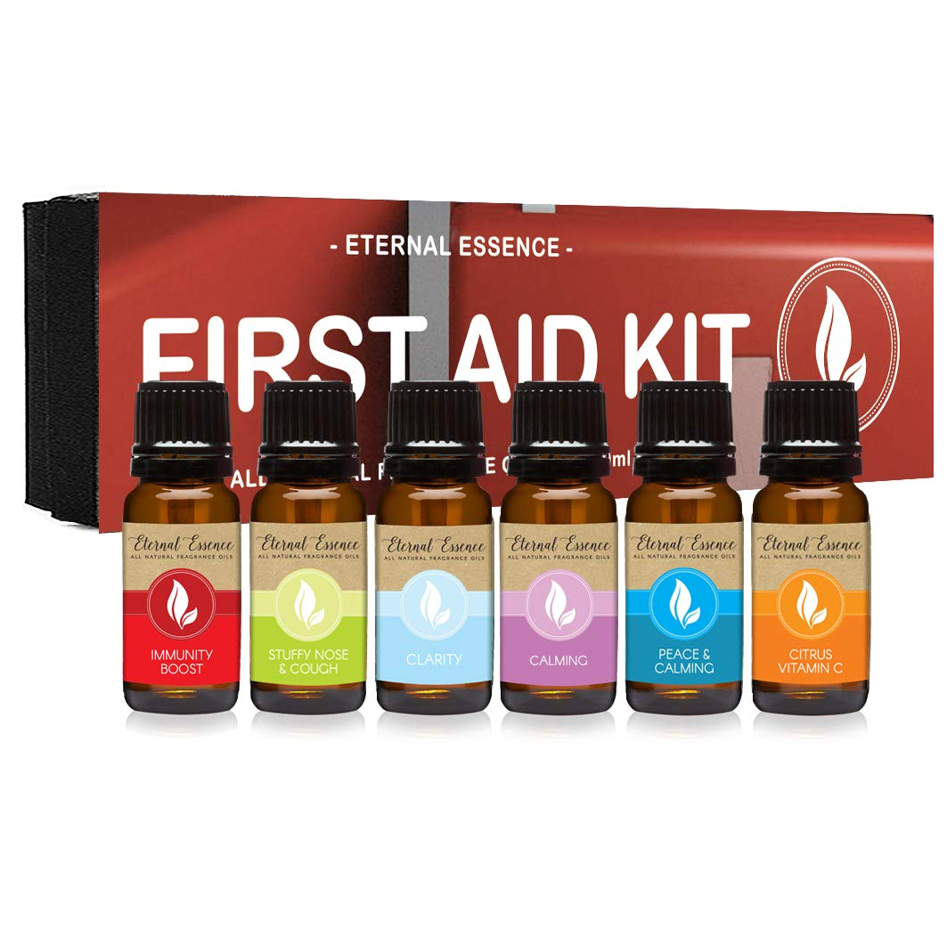 First Aid Kit - Gift Set Of Oils Immun All 数量限定 未使用 Natural Fragrance 6