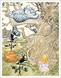 Alice im Wunderland Katze im Baum Chesire Fantasy