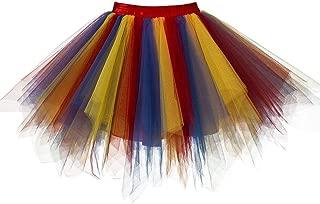 Women's Vintage 1950s Tutu Petticoat Ballet Bubble Dance Skirt