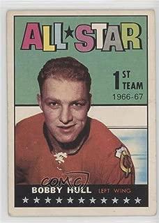 Bobby Hull Ungraded COMC Poor (Hockey Card) 1967-68 Topps - [Base] #124