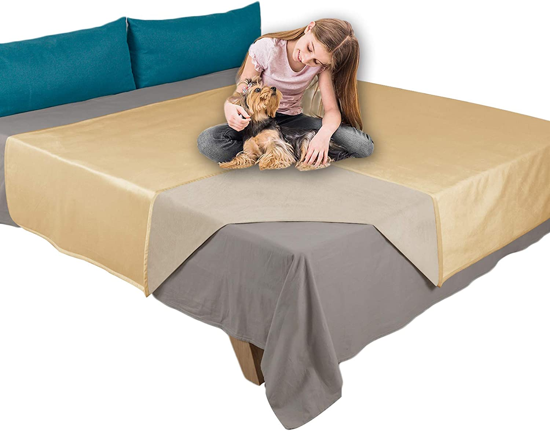Ameritex Pet Bed Blanket Reversible Super Velvet 100% Max 51% Very popular OFF Waterproof