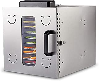Food Dehydrator Machine, 12 Trays Electric Vegetables Dryer, BPA Free, with Timer for Fruit Veg Fish Beef