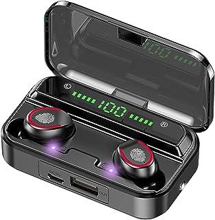 Tung bas hörlurar öronsnäckor hörlurar Snygg bärbar Bluetooth 5.1 Earphones TWS Trådlös hörlurar Touch Flashlight Sport Va...